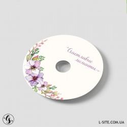 """DVD-R диски со стандартным текстом """"Счастливые моменты"""""""