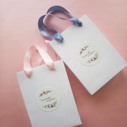 Пакет из белого картона