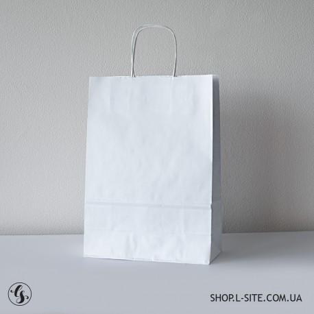Белый крафт-пакет