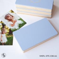 Короб фанерный для фото и флешки со съемной крышкой крашеный
