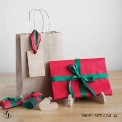 Набор флешка + упаковка для фото новогодний