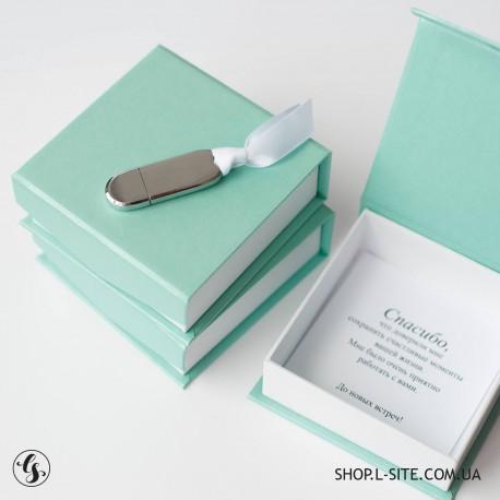Набор флешка + цветная коробка от 1 шт