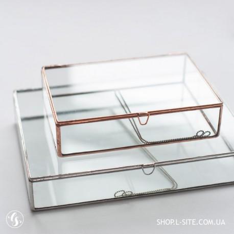 Коробка для фотографий стекло