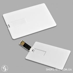 Пластиковая флешка карточка USB  с логотипом купить
