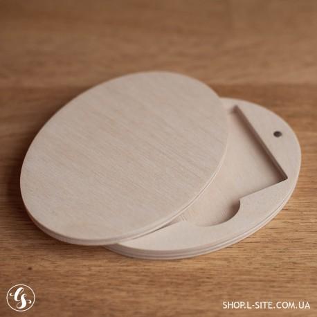 Коробка для флешки карточки из фанеры с логотипом купить