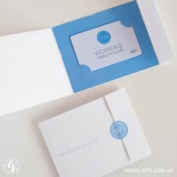 Упаковка для пластиковых и дисконтных карт