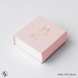 Коробка для флешки с крышкой из итальянского кожзама от 1 штуки