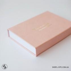 Коробка для фото и флешки с крышкой из итальянского кожзама от 1 штуки