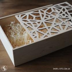 Деревянная коробка для подарка, корпоративный подарок