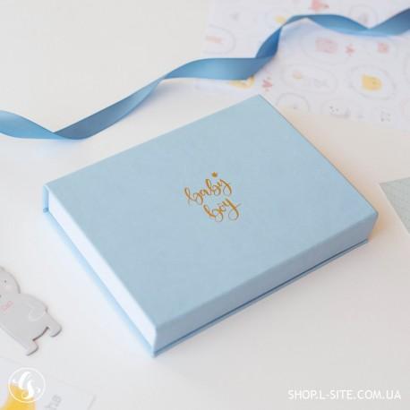 Коробка для фотографий  Baby boy, коробка с фотографиями купить