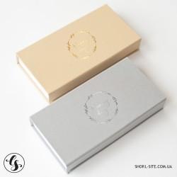 Короб для фотографий из ткани