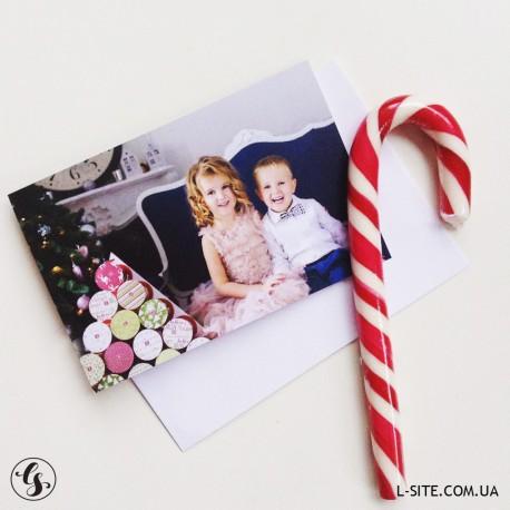 Набор открыток 10х15 см с конвертами 8 штук