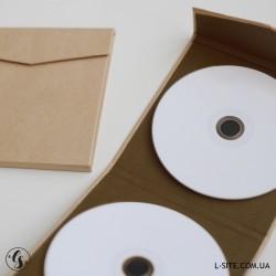 Коробка для диска на магните в эко-стиле