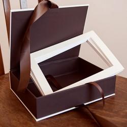Набор: короб для фото без печати и 10 паспарту